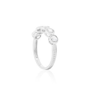 18ct White Gold Lulla Diamond Dress Ring