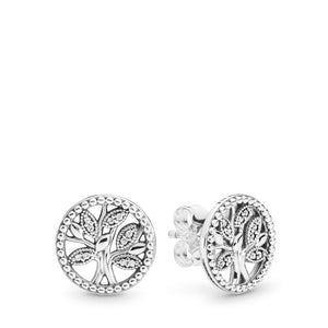 Trees of Life Silver Studs