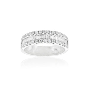 18ct White Gold Thea Diamond Dress Ring
