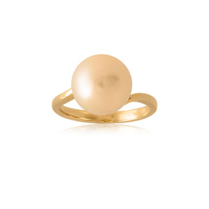 18ct Yellow Gold Perenna South Sea Pearl Ring