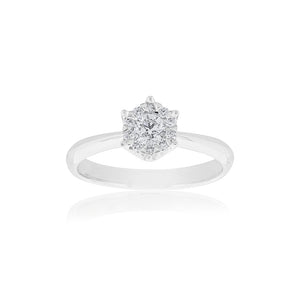 18ct White Gold Alessia Diamond Ring