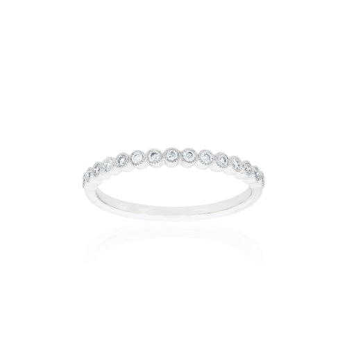 18ct White Gold Millie Diamond Band