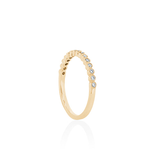 18ct Yellow Gold Millie Diamond Band