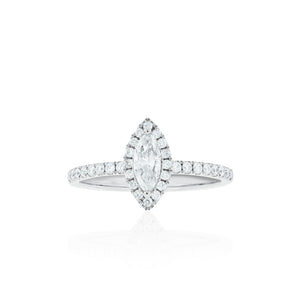 18ct White Gold Iyla Diamond Ring