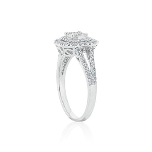 18ct White Gold Everleigh Diamond Ring
