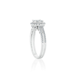 18ct White Gold Alani Diamond Ring