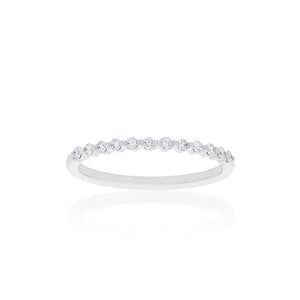 18ct White Gold Bella Diamond Band