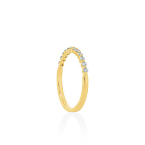 18ct Yellow Gold Bella Diamond Band