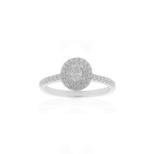 18ct White Gold Kora Diamond Ring