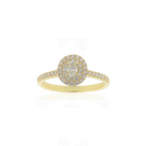 18ct Yellow Gold Kora Diamond Ring