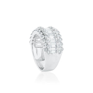 18ct White Gold Luana Diamond Dress Ring