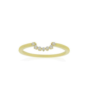 18ct Yellow Gold Lucia Diamond Band