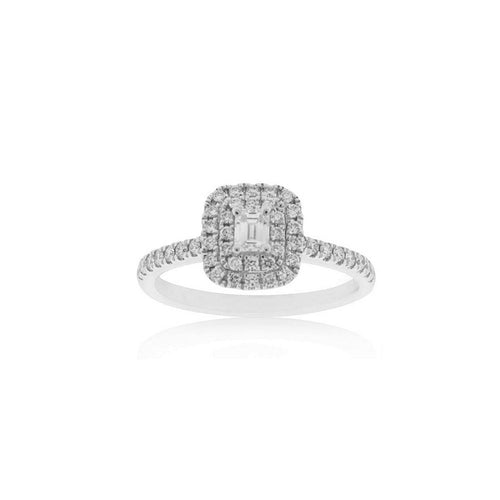 18ct White Gold Zara Diamond Ring