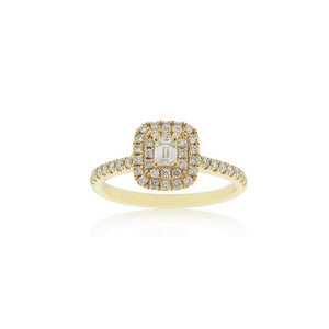 18ct Yellow Gold Zara Diamond Ring