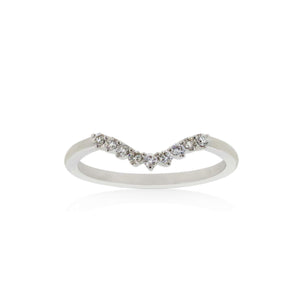 18ct White Gold Petra Diamond Band