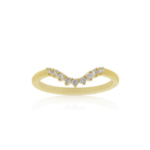 18ct Yellow Gold Petra Diamond Band