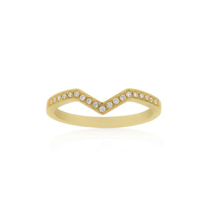 18ct Yellow Gold Riley Diamond Band
