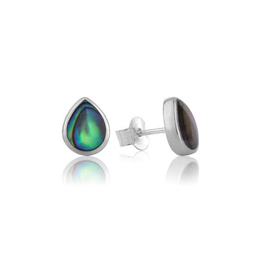 Treasured Paua Studs