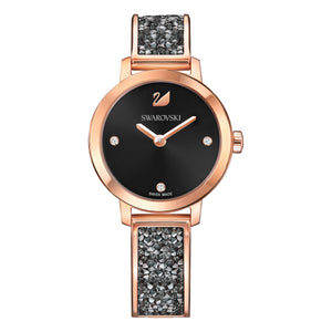 Cosmic Rock Grey and Rose Gold Tone Watch