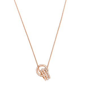 Further Clear Rose Gold Pendant