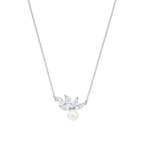 Louison Pearl Clear Necklace
