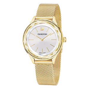 Octea Nova White Gold Mesh Watch
