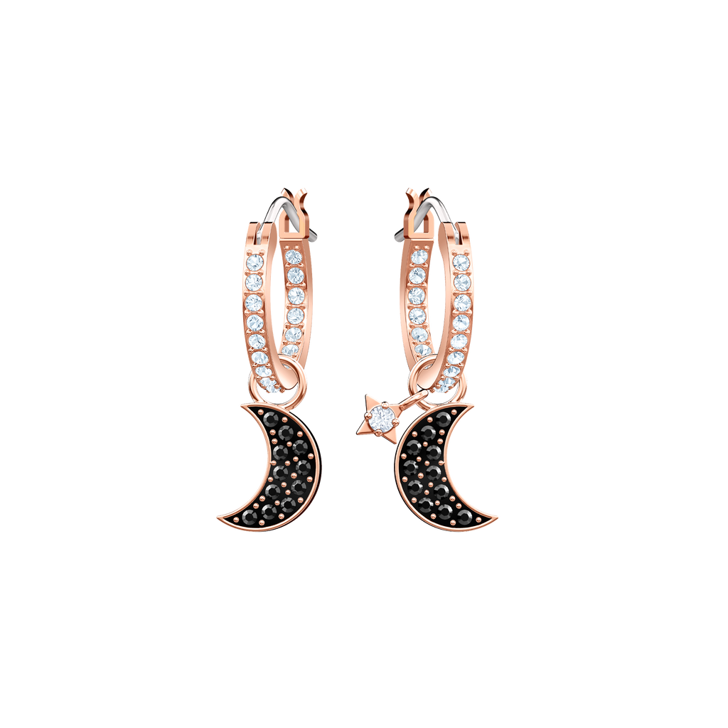 c72a56016c203 Duo Moon Hoop Earrings