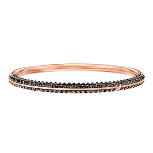 Stone Teal & Rose Gold Bangle