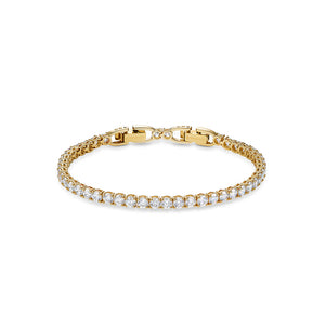 Tennis Deluxe Bracelet Yellow Gold-Tone Plated