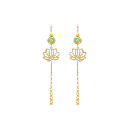 Symbolic Lotus Pierced Earrings