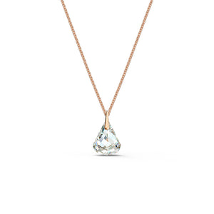 Spirit Pendant White Rose-Gold Tone Plated