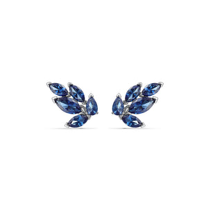 Louison Blue Stud Pierced Earrings