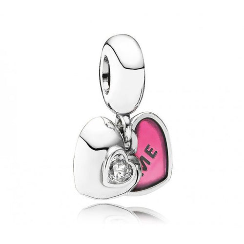 Pink Me And You Hanging Charm