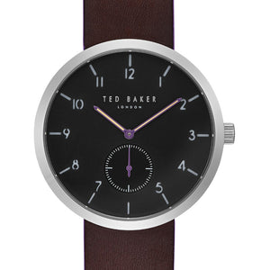 Josh Silver Purple Sub Dial Watch