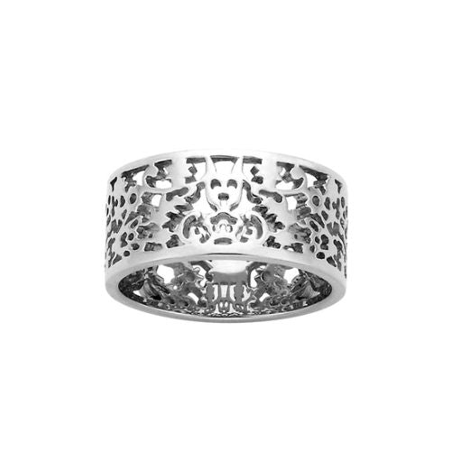 Karen Walker Silver Filigree Band Ring