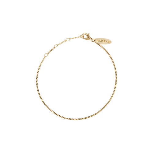 18ct Gold Plated Vermeil Adjustable Bracelet