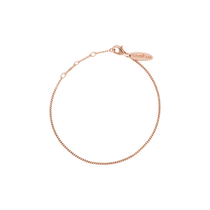 18ct Rose Gold Vermeil Plated Adjustable Bracelet
