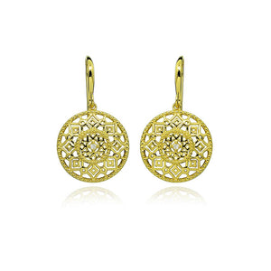 Gold Plated Salma Earrings