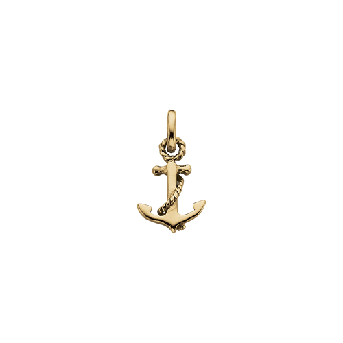 18ct Gold Plated Vermeil Anchor Charm