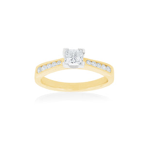 18ct Yellow Gold Avon Diamond Ring