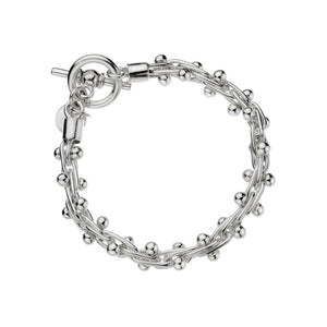 Silver Small Spratling Bracelet -19CM