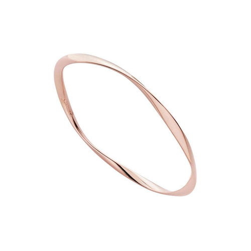 Garden Of Eden Bangle - Rose Gold Plated