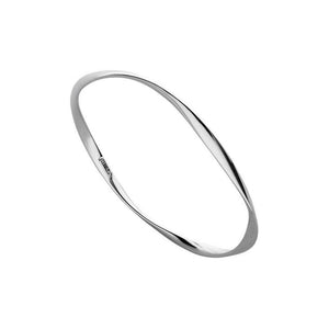 Garden Of Eden Bangle - Silver