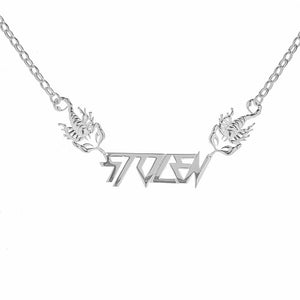 Silver Berate Scorpion Necklace