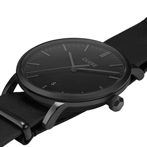 Aravis Full Black Nato Watch
