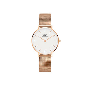 Petite Melrose White Rose Gold 28mm Watch