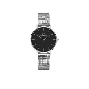 Petite Sterling Black 28mm Watch