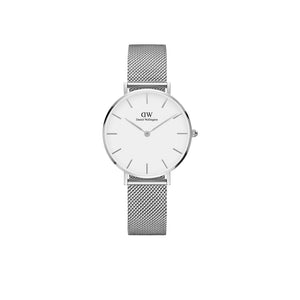Petite Sterling White 28mm Watch