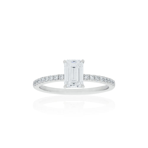18ct White Gold Lavina Diamond Ring 1D=1.00ct