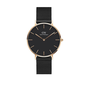 Classic 36mm Ashfield Rose Gold Black Watch